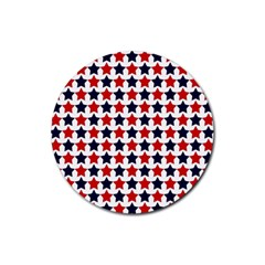 Patriot Stars Drink Coaster (Round)