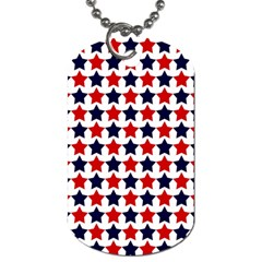 Patriot Stars Dog Tag (one Sided)
