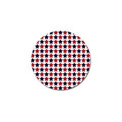 Patriot Stars Golf Ball Marker