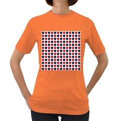 Patriot Stars Women s T Shirt (colored)