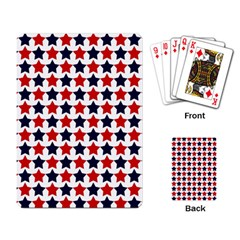 Patriot Stars Playing Cards Single Design