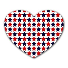 Patriot Stars Mouse Pad (Heart)