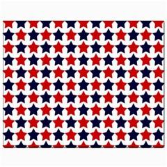 Patriot Stars Canvas 11  X 14  (unframed)