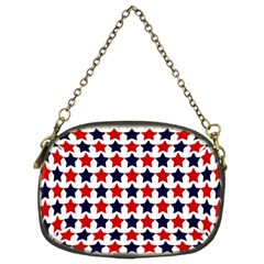 Patriot Stars Chain Purse (two Sided)