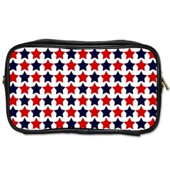 Patriot Stars Travel Toiletry Bag (Two Sides)