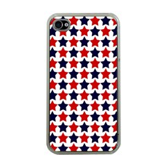 Patriot Stars Apple Iphone 4 Case (clear)