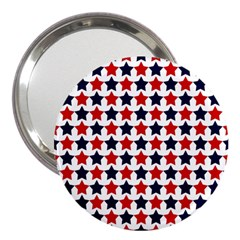 Patriot Stars 3  Handbag Mirror