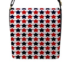 Patriot Stars Flap Closure Messenger Bag (Large)