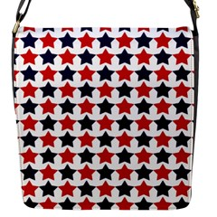Patriot Stars Flap Closure Messenger Bag (small)