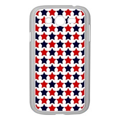 Patriot Stars Samsung Galaxy Grand DUOS I9082 Case (White)
