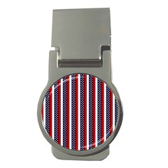 Patriot Stripes Money Clip (Round)