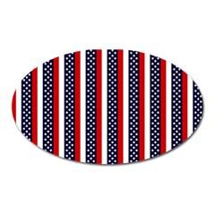 Patriot Stripes Magnet (Oval)