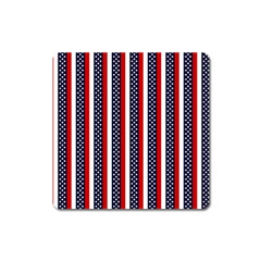 Patriot Stripes Magnet (Square)