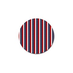 Patriot Stripes Golf Ball Marker