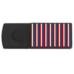 Patriot Stripes 2GB USB Flash Drive (Rectangle)