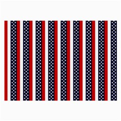 Patriot Stripes Glasses Cloth (Large, Two Sided)