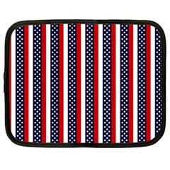 Patriot Stripes Netbook Sleeve (large)