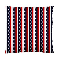 Patriot Stripes Cushion Case (Two Sided)