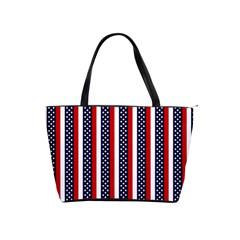 Patriot Stripes Large Shoulder Bag