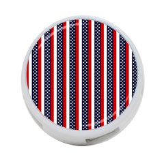 Patriot Stripes 4-Port USB Hub (One Side)