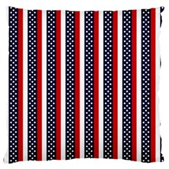 Patriot Stripes Large Cushion Case (Two Sided)