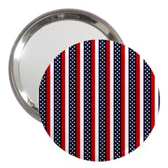 Patriot Stripes 3  Handbag Mirror