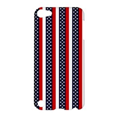 Patriot Stripes Apple iPod Touch 5 Hardshell Case