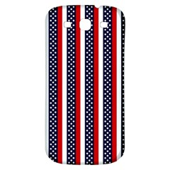 Patriot Stripes Samsung Galaxy S3 S Iii Classic Hardshell Back Case