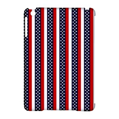 Patriot Stripes Apple iPad Mini Hardshell Case (Compatible with Smart Cover)