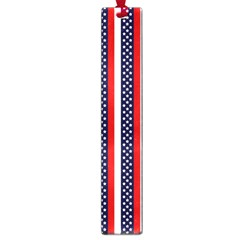 Patriot Stripes Large Bookmark