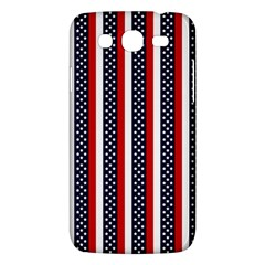 Patriot Stripes Samsung Galaxy Mega 5.8 I9152 Hardshell Case
