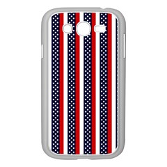 Patriot Stripes Samsung Galaxy Grand Duos I9082 Case (white)