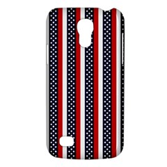 Patriot Stripes Samsung Galaxy S4 Mini (GT-I9190) Hardshell Case