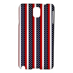 Patriot Stripes Samsung Galaxy Note 3 N9005 Hardshell Case