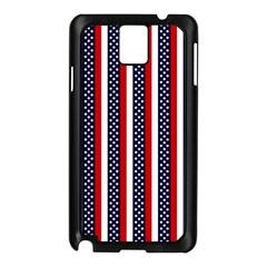 Patriot Stripes Samsung Galaxy Note 3 N9005 Case (Black)