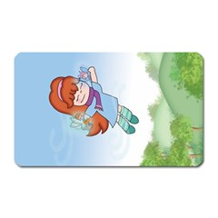 Fairy Flight Magnet (rectangular)