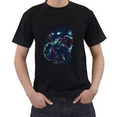 Flame Eyes Men s T Shirt (black)