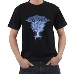 Tree Of Lightings Men s T Shirt (black)