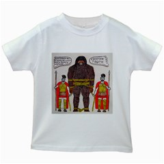 Big Foot & Romans Kids T Shirt (white)