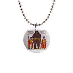 Big Foot & Romans Button Necklace