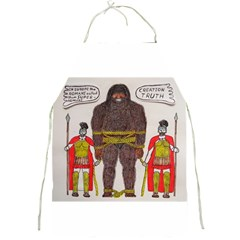 Big Foot & Romans Apron