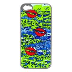 Kisses Apple iPhone 5 Case (Silver)