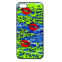 Kisses Apple iPhone 5 Seamless Case (Black)