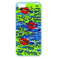 Kisses Apple Seamless iPhone 5 Case (Color)