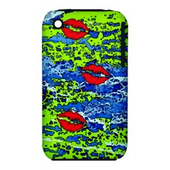 Kisses Apple iPhone 3G/3GS Hardshell Case (PC+Silicone)