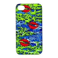 Kisses Apple iPhone 4/4S Hardshell Case with Stand