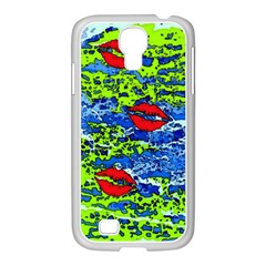 Kisses Samsung GALAXY S4 I9500/ I9505 Case (White)