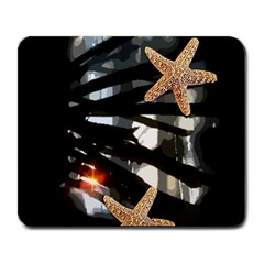 Star Fish Large Mouse Pad (Rectangle)