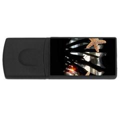 Star Fish 1GB USB Flash Drive (Rectangle)