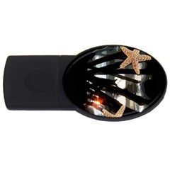 Star Fish 4gb Usb Flash Drive (oval)
